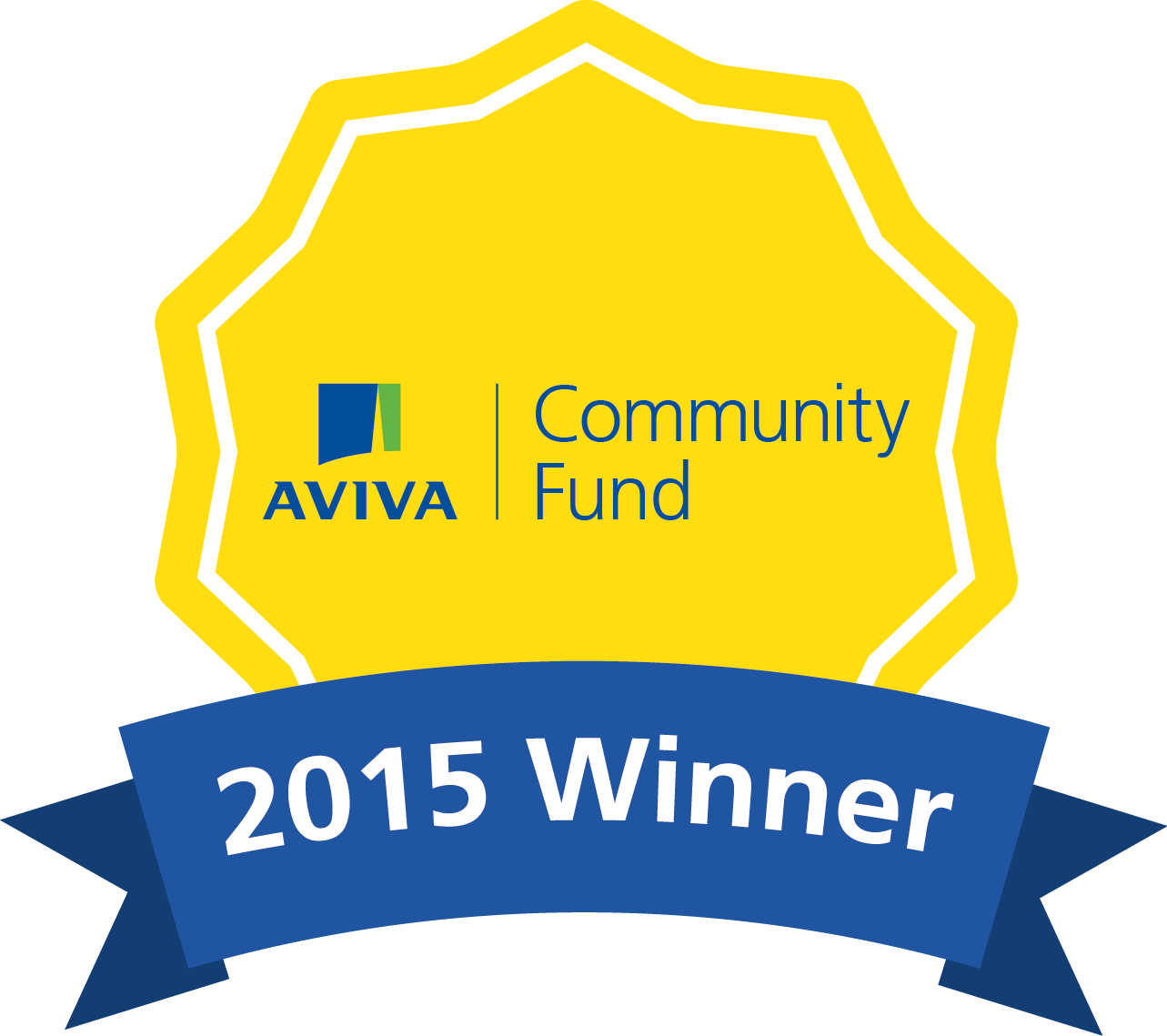 Aviva winner badge