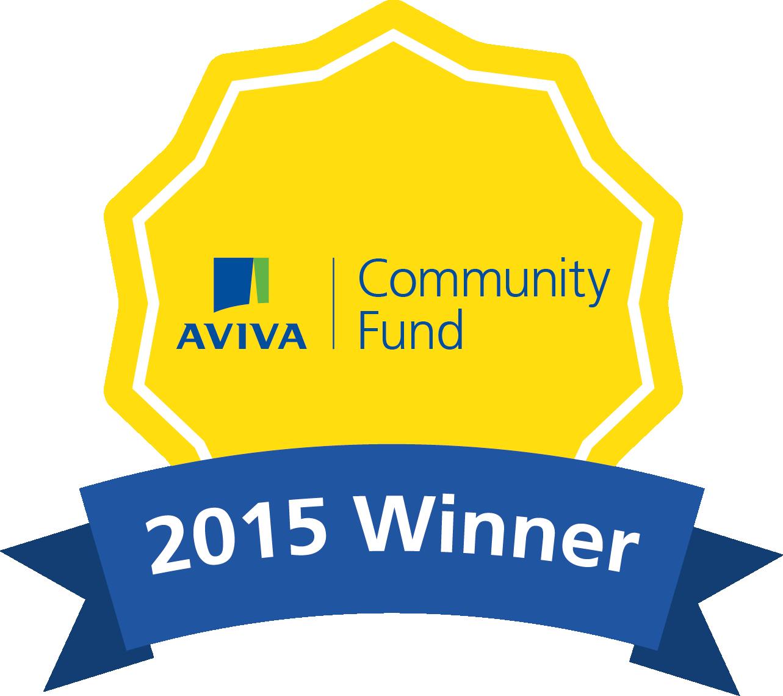 Aviva winner badge