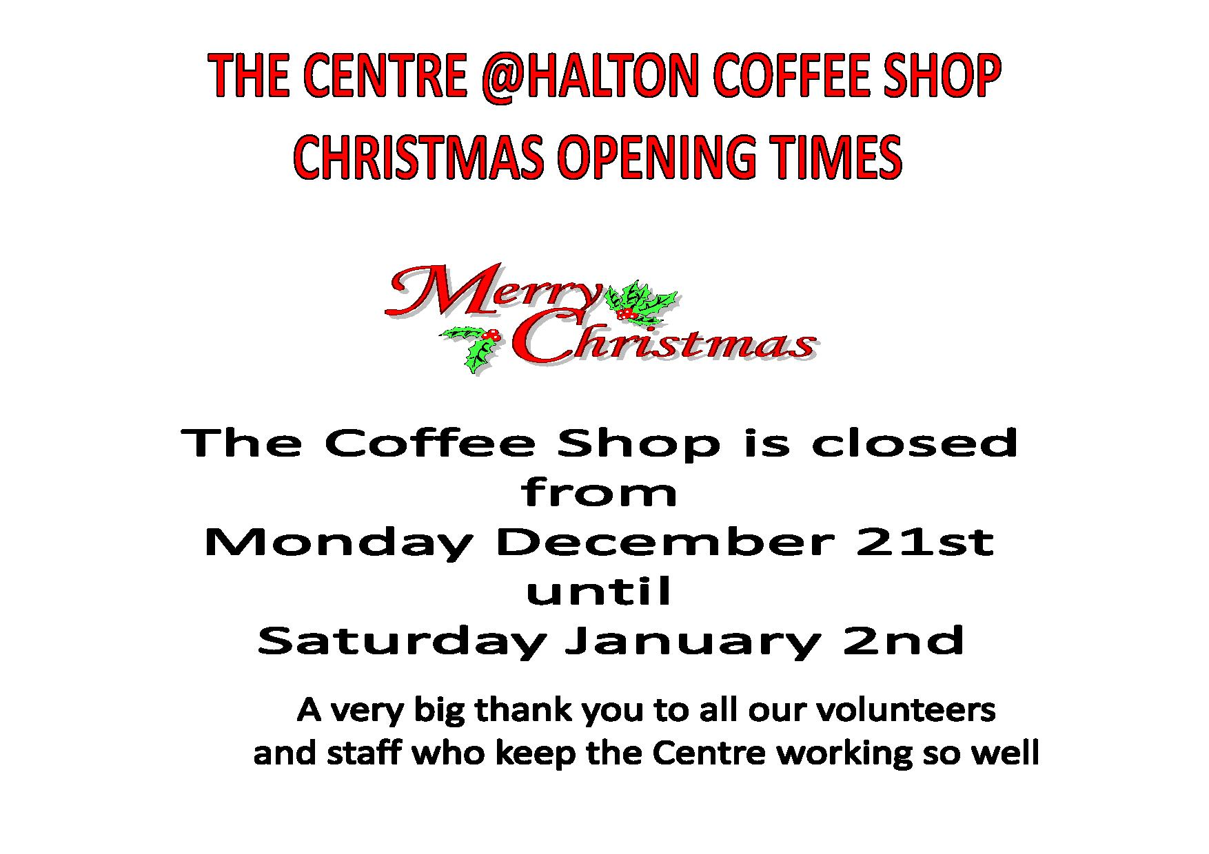 COFFEE SHOP OPEN TIMES FOR CHRISTMAS 2015-page-001 (2)