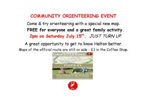 COMMUNITY ORIENTEERING EVENT - July 2017-page-001