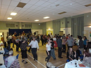 Ceilidh in new hall 1