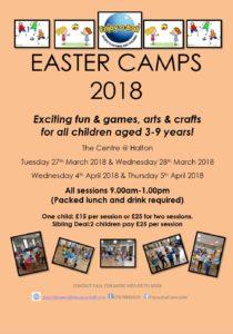 Enjoy a ball Easter Camps