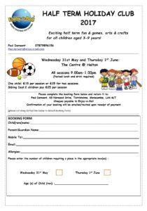 Enjoy a Ball May Holiday Camp 2017