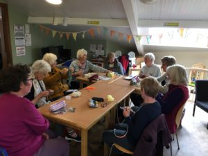 Knit and Natter photo - April 2017