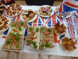 Queen's birthday - savoury