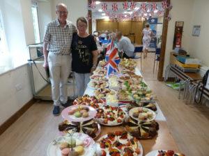 Queen's birthday - the cooks