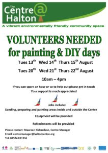 Help with Painting and DIY - The Centre @ Halton