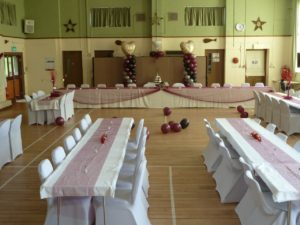 Wedding - hall lay out